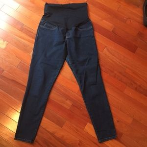 Dark maternity jeans